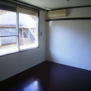 After:築25年1Kアパート「6帖/和室⇒洋室」
