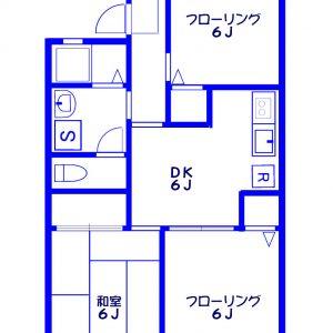 Before:築古3DK「建具はそのまま活かし、床材やアクセントクロスでイメージアップ&コストダウン!」