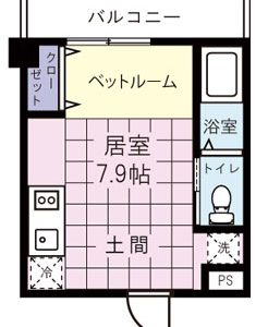 After:築31年1Rマンション「18㎡の居住空間を最大化!高機能・快適空間に!」